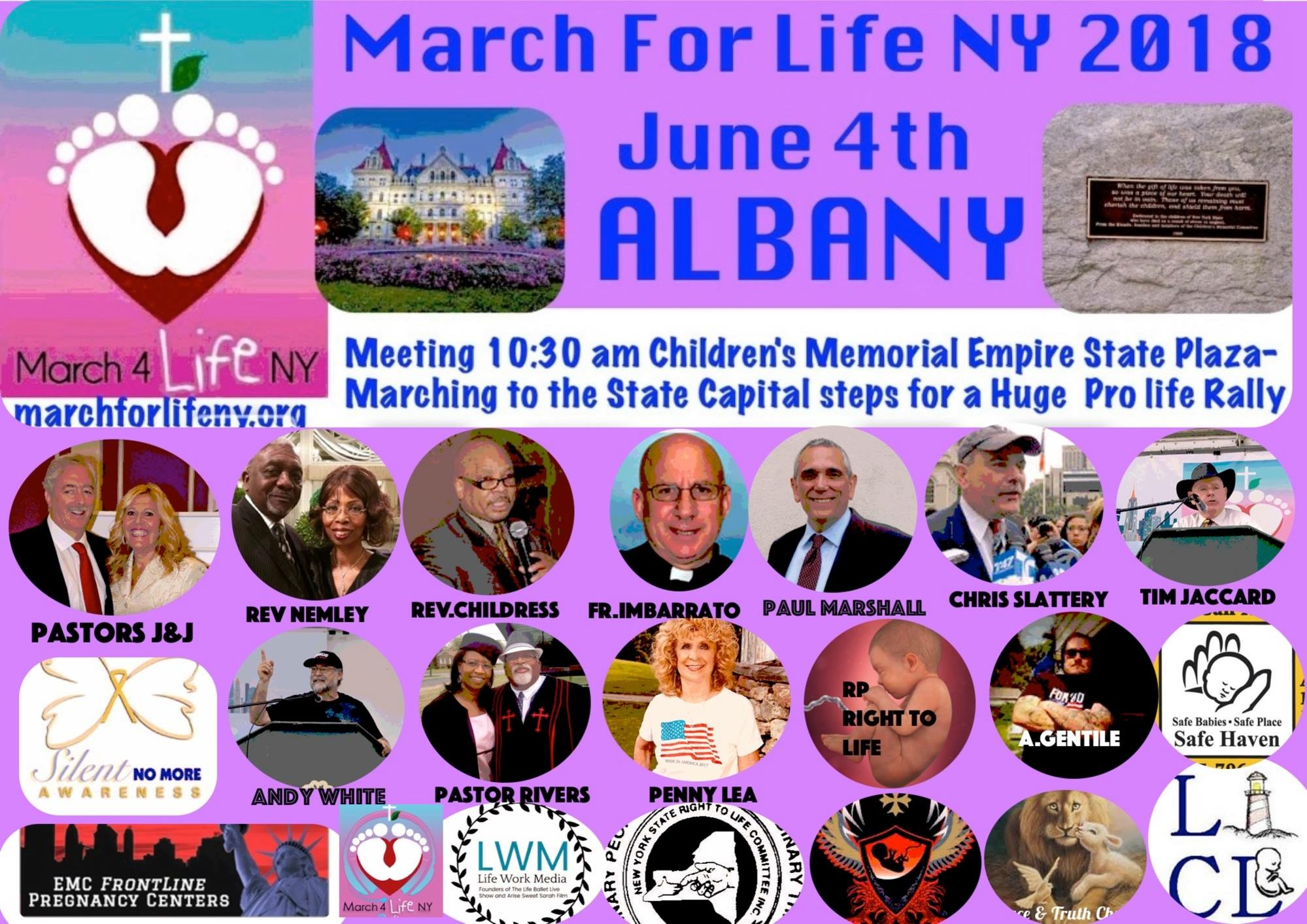 Annual March For Life New York
